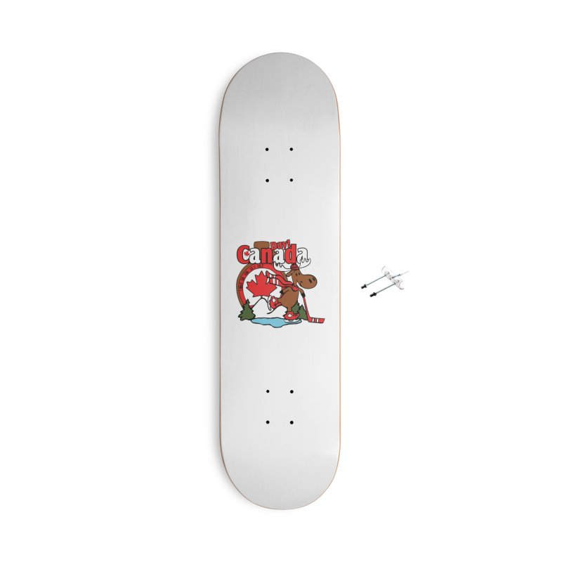 Canada Day Accessories With Hanging Hardware Skateboard by Moon Joggers's Artist Shop