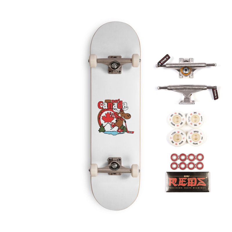 Canada Day Accessories Complete - Pro Skateboard by Moon Joggers's Artist Shop