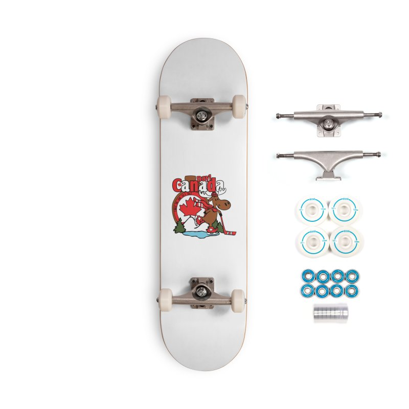 Canada Day Accessories Complete - Basic Skateboard by Moon Joggers's Artist Shop