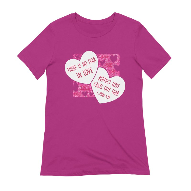 Perfect Love Women's Extra Soft T-Shirt by Moon Joggers's Artist Shop
