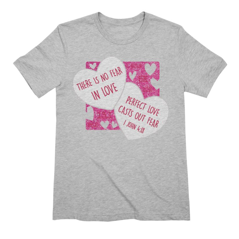 Perfect Love Men's Extra Soft T-Shirt by Moon Joggers's Artist Shop