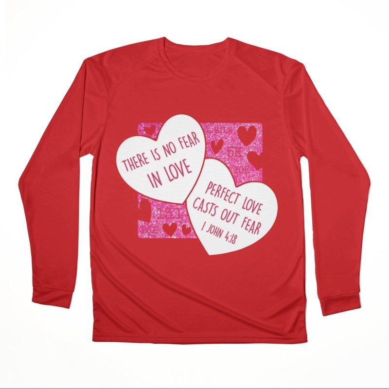 Perfect Love Men's Performance Longsleeve T-Shirt by Moon Joggers's Artist Shop