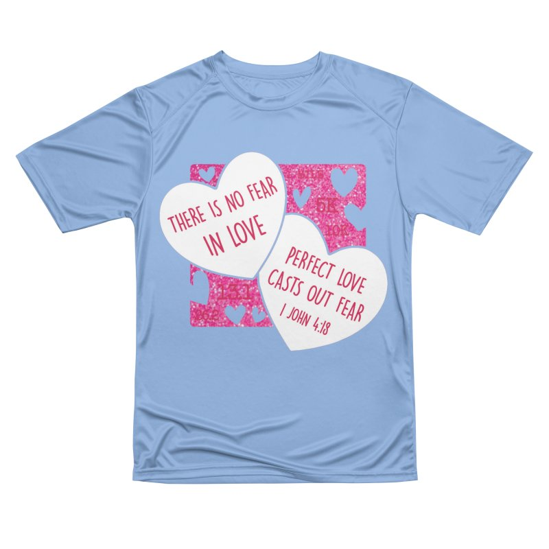 Perfect Love Men's Performance T-Shirt by Moon Joggers's Artist Shop