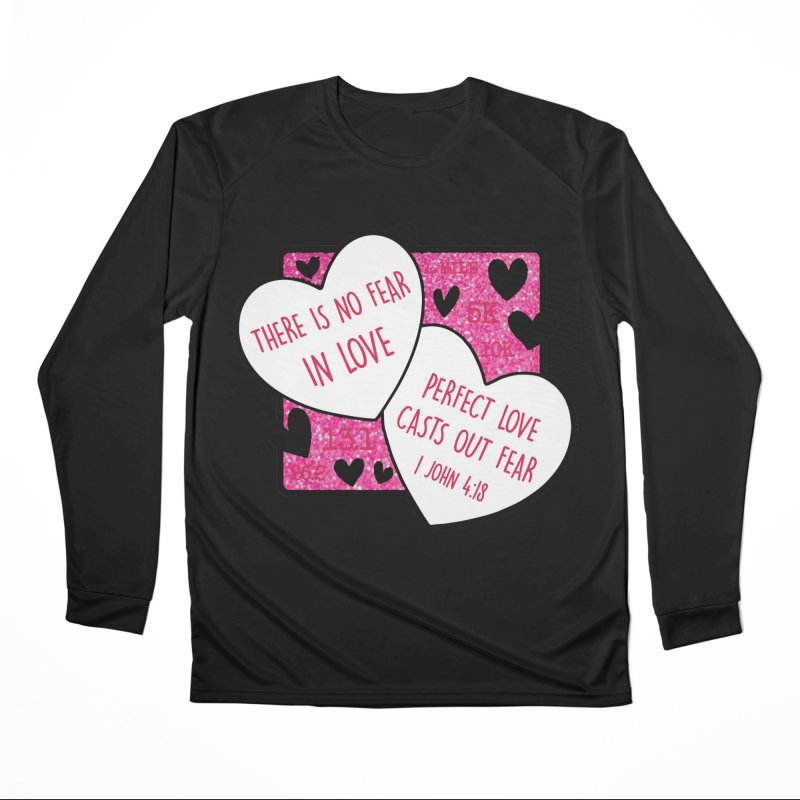 Perfect Love Women's Performance Unisex Longsleeve T-Shirt by Moon Joggers's Artist Shop