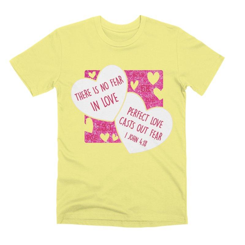 Perfect Love Men's Premium T-Shirt by Moon Joggers's Artist Shop