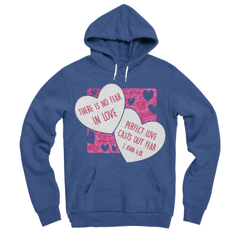 Perfect Love Women's Sponge Fleece Pullover Hoody by Moon Joggers's Artist Shop