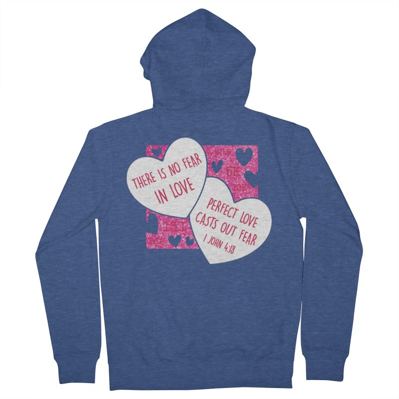 Perfect Love Women's French Terry Zip-Up Hoody by Moon Joggers's Artist Shop