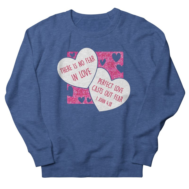 Perfect Love Women's French Terry Sweatshirt by Moon Joggers's Artist Shop