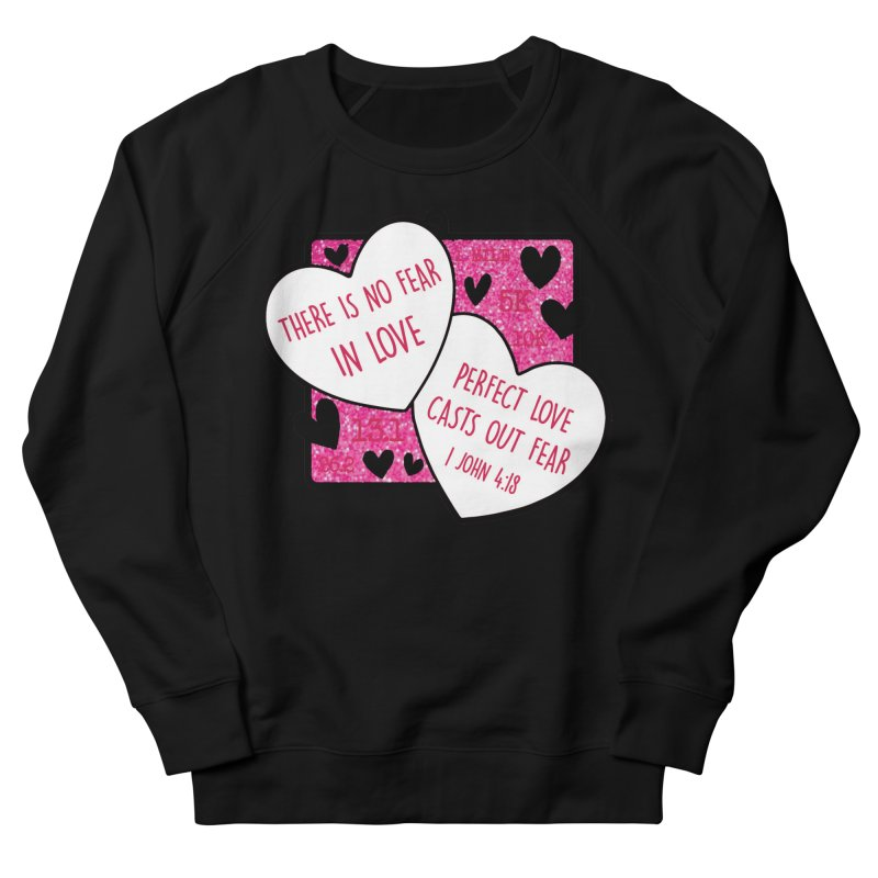 Perfect Love Men's French Terry Sweatshirt by Moon Joggers's Artist Shop