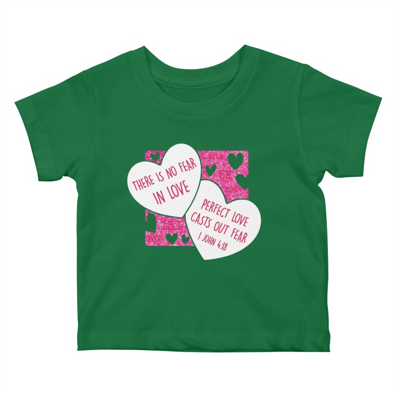 Perfect Love Kids Baby T-Shirt by Moon Joggers's Artist Shop