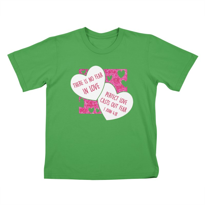 Perfect Love Kids T-Shirt by Moon Joggers's Artist Shop