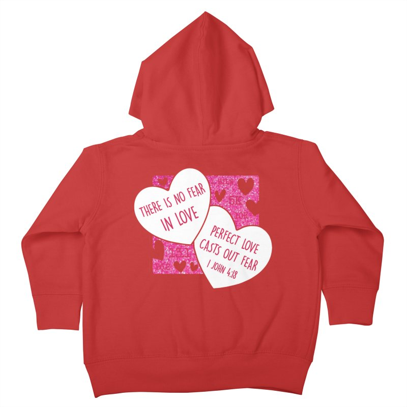 Perfect Love Kids Toddler Zip-Up Hoody by Moon Joggers's Artist Shop