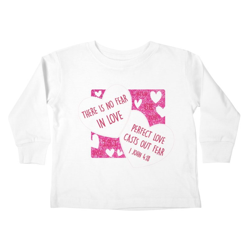 Perfect Love Kids Toddler Longsleeve T-Shirt by Moon Joggers's Artist Shop