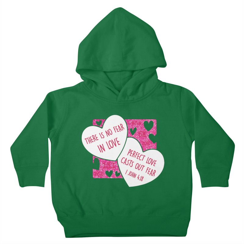 Perfect Love Kids Toddler Pullover Hoody by Moon Joggers's Artist Shop