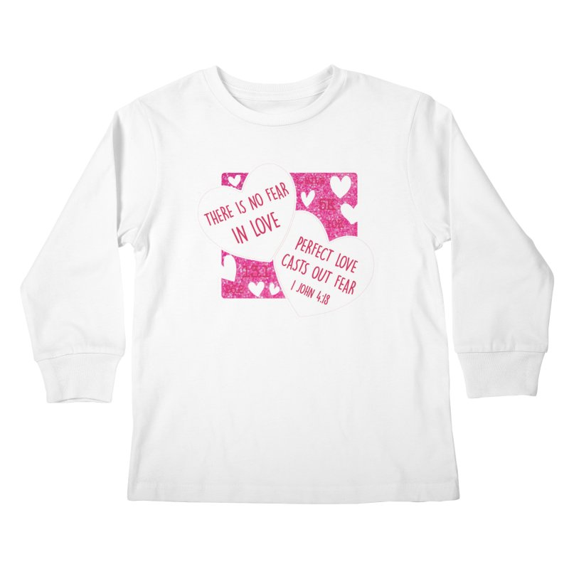 Perfect Love Kids Longsleeve T-Shirt by Moon Joggers's Artist Shop