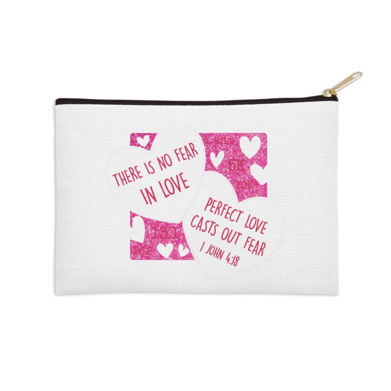 Perfect Love Accessories Zip Pouch by Moon Joggers's Artist Shop