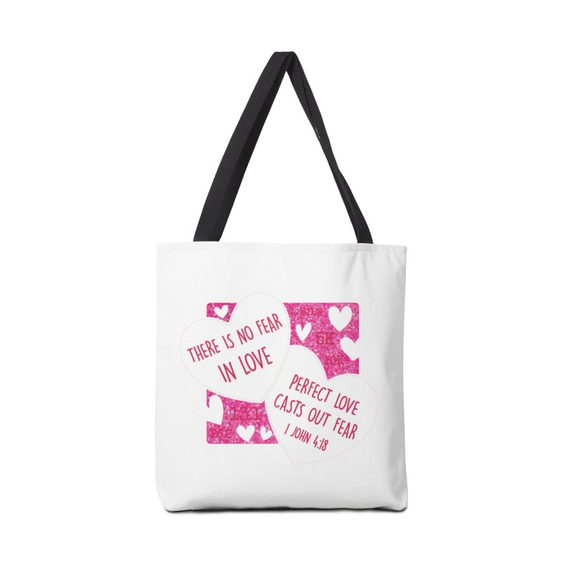 Perfect Love Accessories Tote Bag Bag by Moon Joggers's Artist Shop