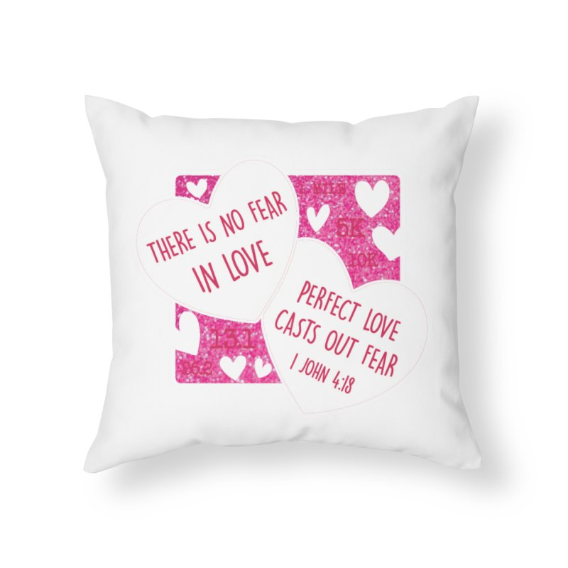 Perfect Love Home Throw Pillow by Moon Joggers's Artist Shop