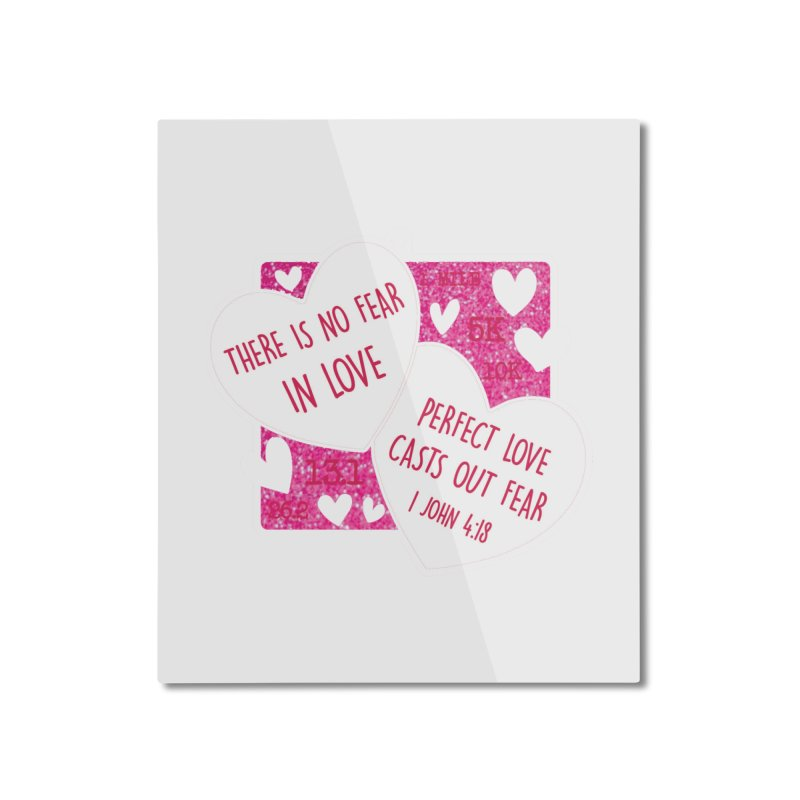 Perfect Love Home Mounted Aluminum Print by Moon Joggers's Artist Shop