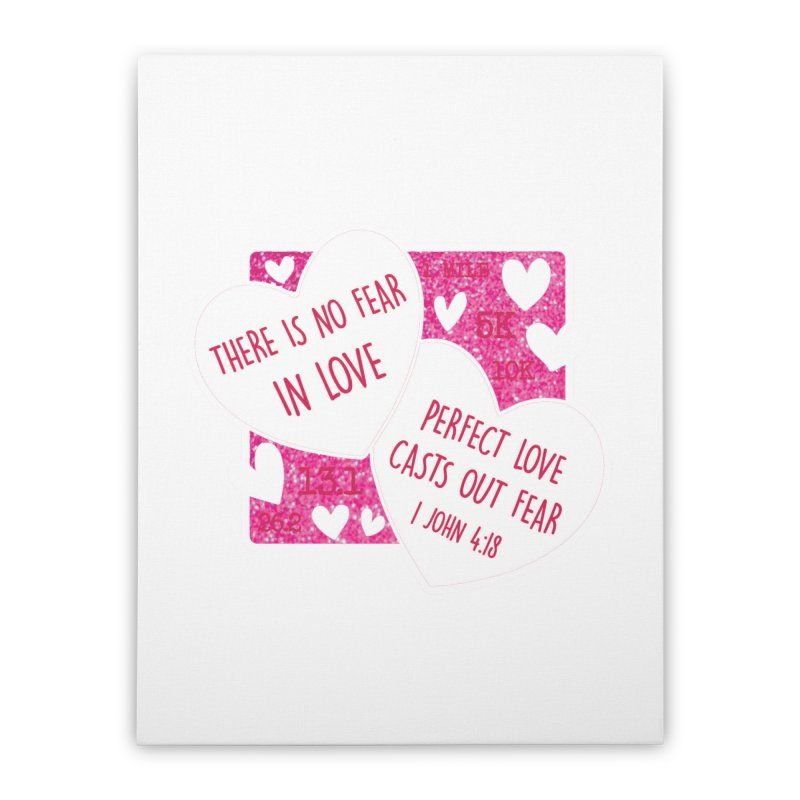 Perfect Love Home Stretched Canvas by Moon Joggers's Artist Shop