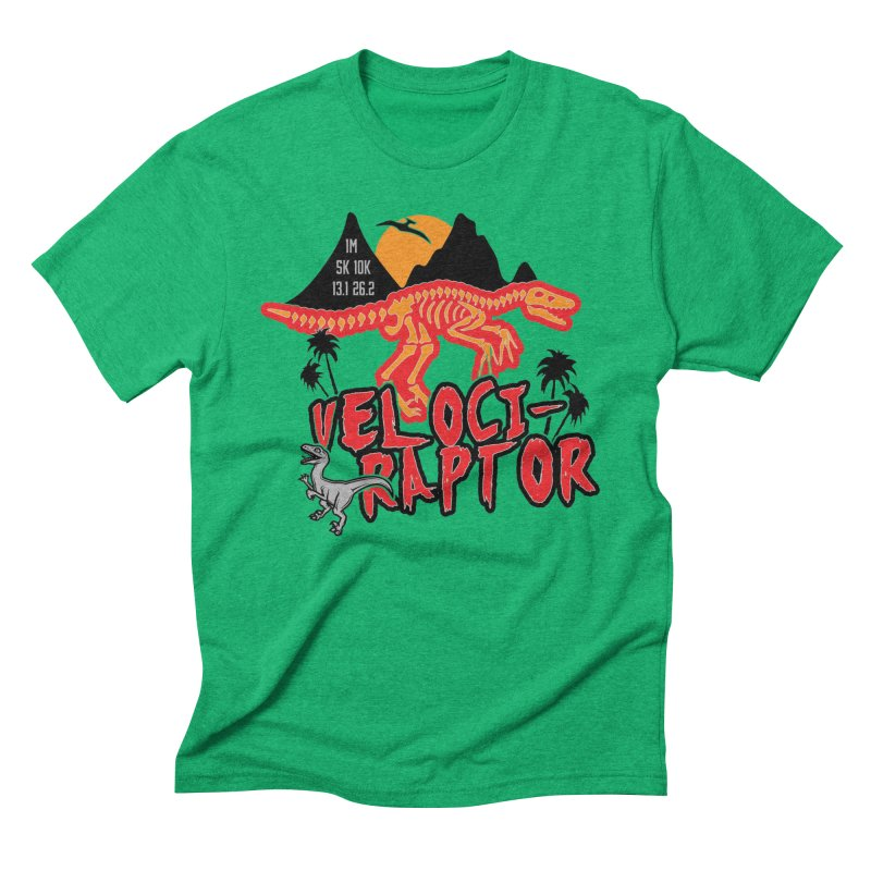 Dinosaurs! Velociraptor Men's T-Shirt by Moon Joggers's Artist Shop
