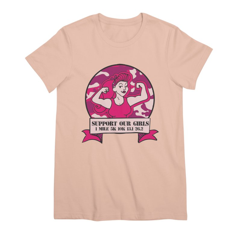 Support Our Girls Women's Premium T-Shirt by Moon Joggers's Artist Shop