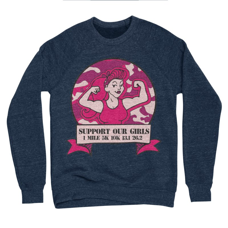 Support Our Girls Men's Sponge Fleece Sweatshirt by Moon Joggers's Artist Shop