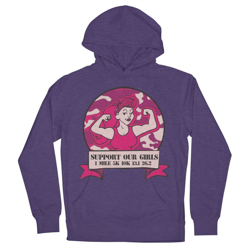 Support Our Girls Women's French Terry Pullover Hoody by Moon Joggers's Artist Shop