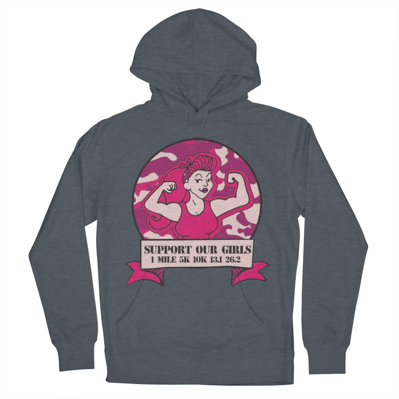 Support Our Girls Men's French Terry Pullover Hoody by Moon Joggers's Artist Shop