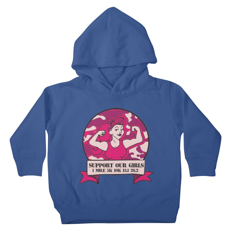 Support Our Girls Kids Toddler Pullover Hoody by Moon Joggers's Artist Shop