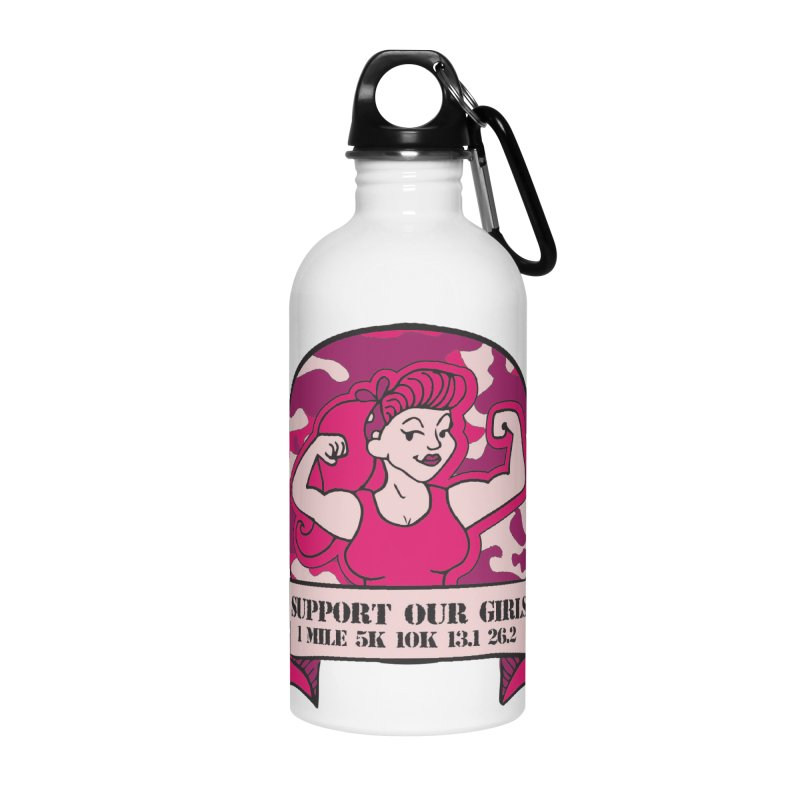 Support Our Girls Accessories Water Bottle by Moon Joggers's Artist Shop