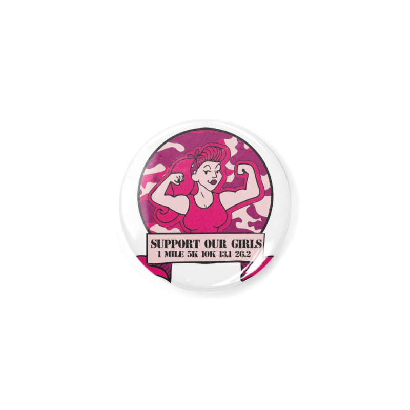 Support Our Girls Accessories Button by Moon Joggers's Artist Shop