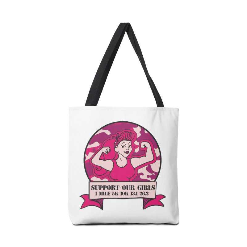 Support Our Girls Accessories Tote Bag Bag by Moon Joggers's Artist Shop
