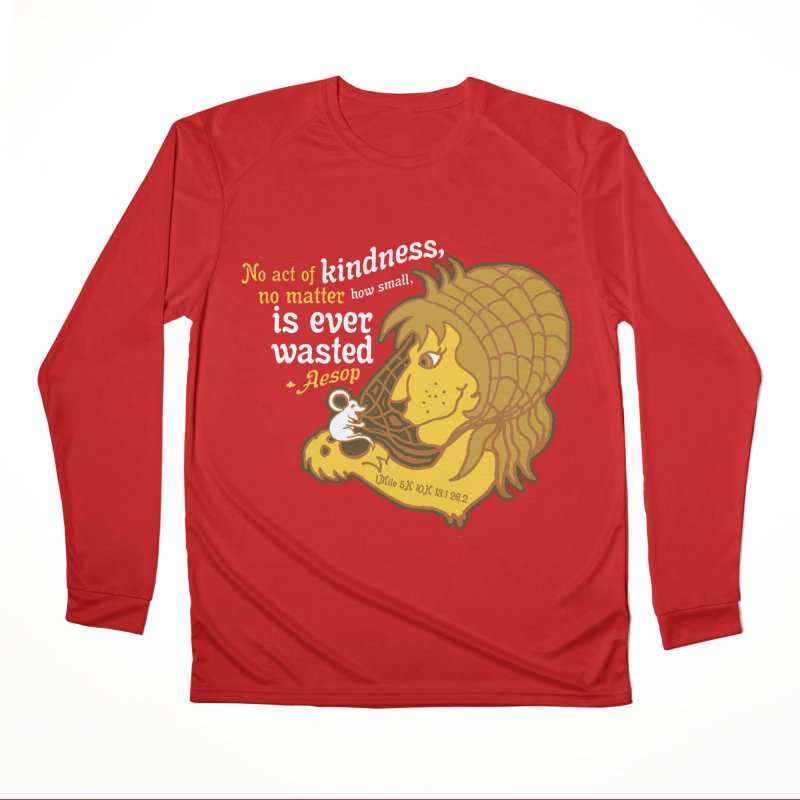 World Kindness Day Women's Performance Unisex Longsleeve T-Shirt by Moon Joggers's Artist Shop