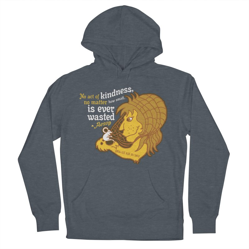World Kindness Day Women's French Terry Pullover Hoody by Moon Joggers's Artist Shop