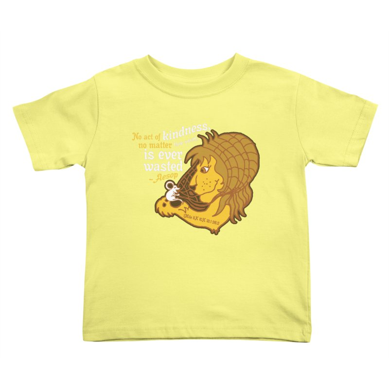 World Kindness Day Kids Toddler T-Shirt by Moon Joggers's Artist Shop