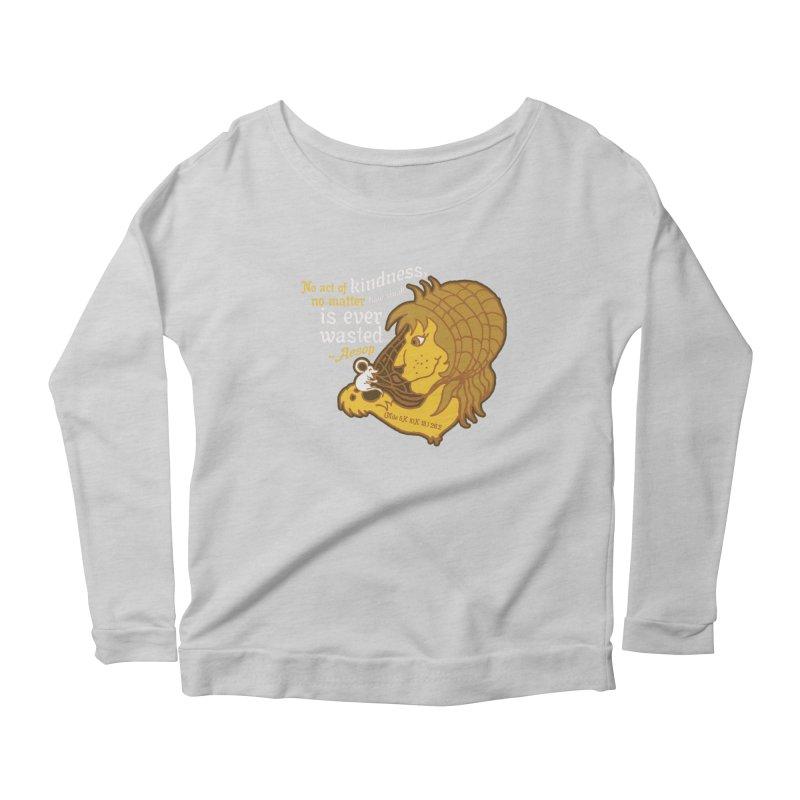 World Kindness Day Women's Scoop Neck Longsleeve T-Shirt by Moon Joggers's Artist Shop
