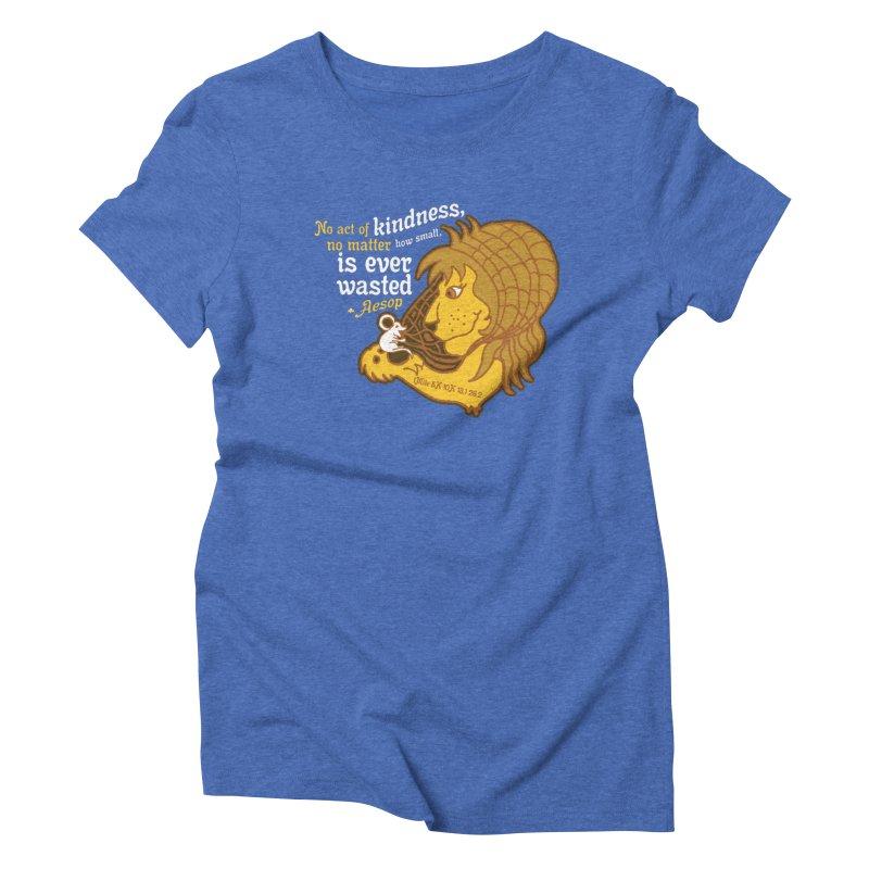 World Kindness Day Women's Triblend T-Shirt by Moon Joggers's Artist Shop