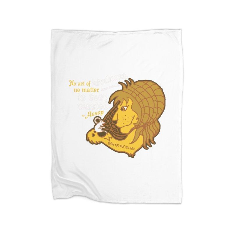 World Kindness Day Home Fleece Blanket Blanket by Moon Joggers's Artist Shop