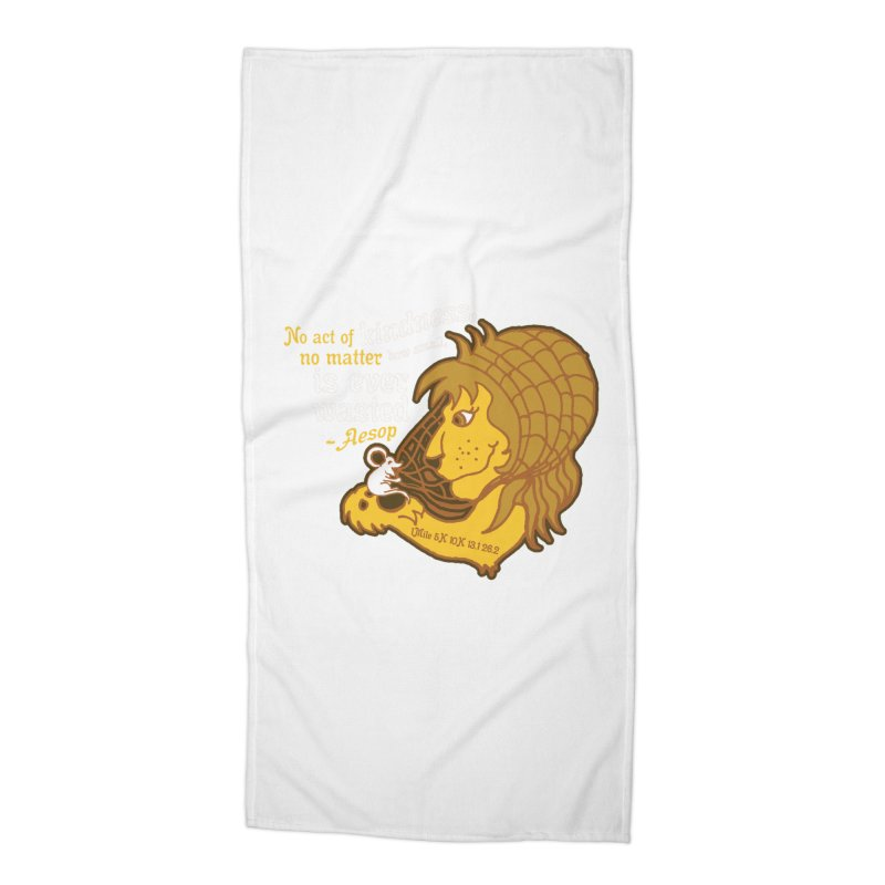 World Kindness Day Accessories Beach Towel by Moon Joggers's Artist Shop
