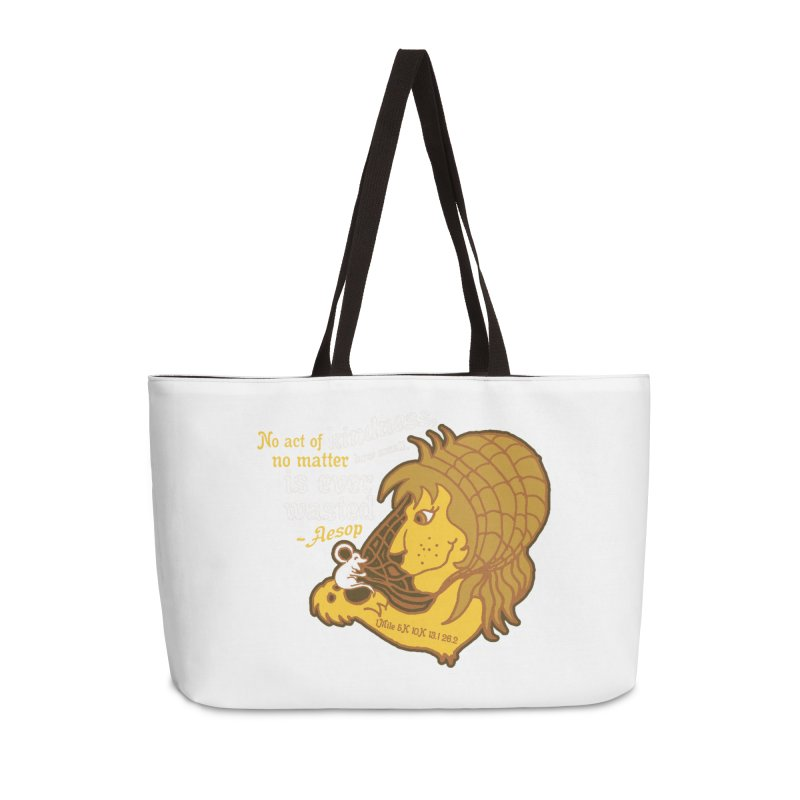 World Kindness Day Accessories Weekender Bag Bag by Moon Joggers's Artist Shop