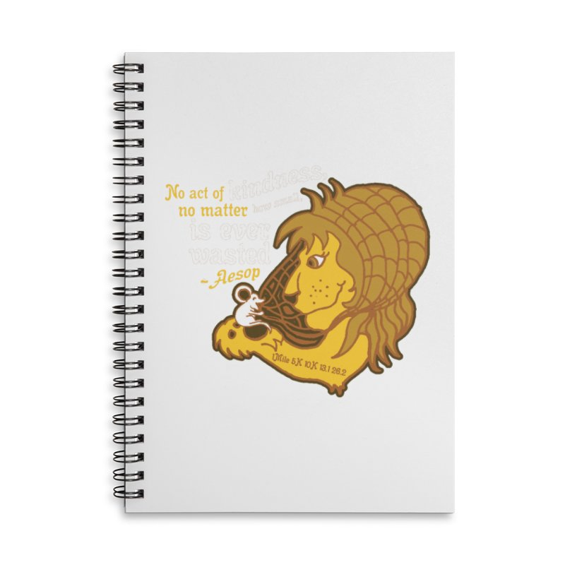 World Kindness Day Accessories Lined Spiral Notebook by Moon Joggers's Artist Shop