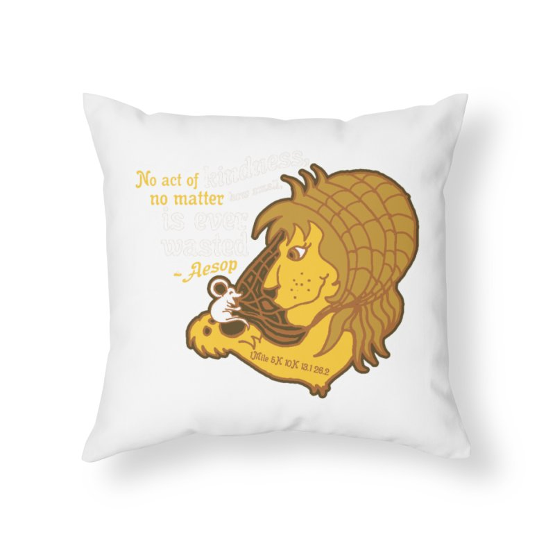 World Kindness Day Home Throw Pillow by Moon Joggers's Artist Shop