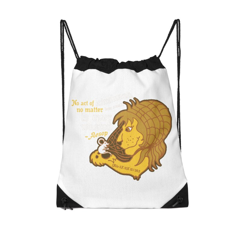 World Kindness Day Accessories Drawstring Bag Bag by Moon Joggers's Artist Shop