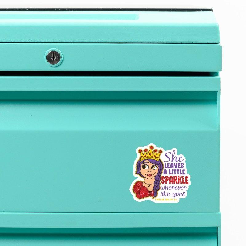Princess Dash Accessories Magnet by Moon Joggers's Artist Shop