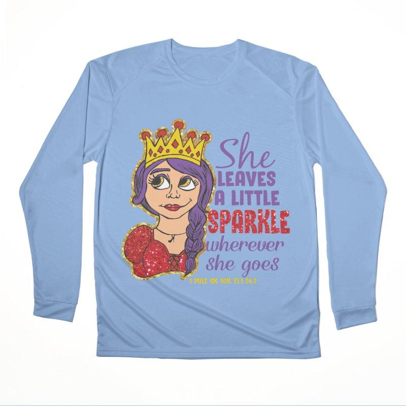 Princess Dash Women's Performance Unisex Longsleeve T-Shirt by Moon Joggers's Artist Shop