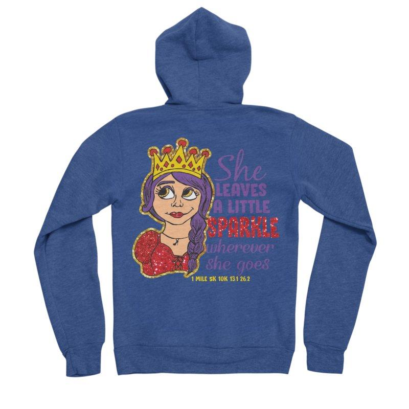 Princess Dash Men's Sponge Fleece Zip-Up Hoody by Moon Joggers's Artist Shop