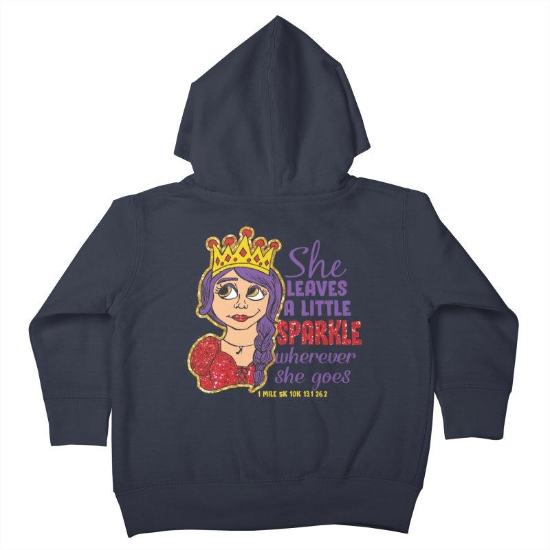 Princess Dash Kids Toddler Zip-Up Hoody by Moon Joggers's Artist Shop