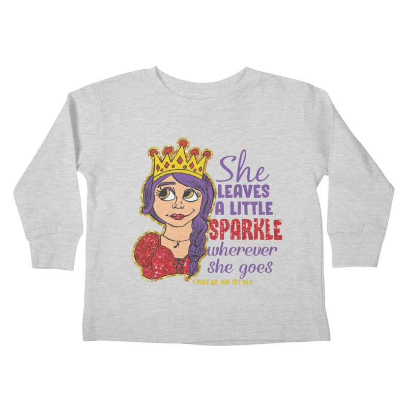 Princess Dash Kids Toddler Longsleeve T-Shirt by Moon Joggers's Artist Shop