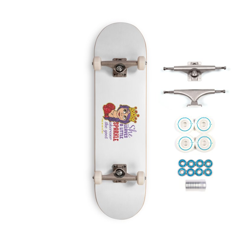 Princess Dash Accessories Complete - Basic Skateboard by Moon Joggers's Artist Shop
